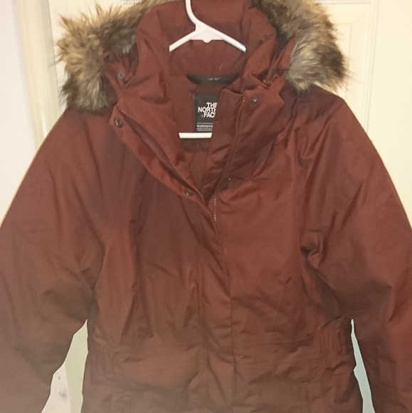 20e54da39 North Face TNF Arctic Parka II Sequoia Red Large